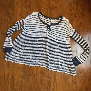 Free People- Cozy Summer Knit Sweater. Size L